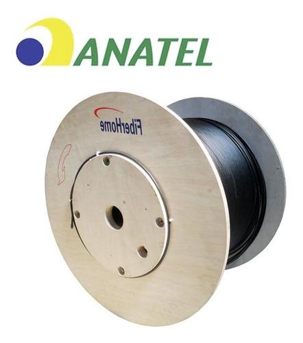 cabo de fibra optica asu 6fo nr bobin 3km fiber home