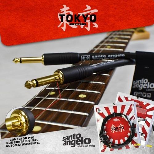 cabo de guitarra tokyo 0,50mm p10 / p10 10ft 3,05m
