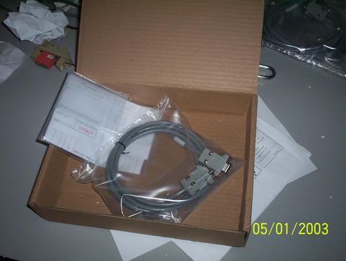 cabo de programação clp omron to200hs-cn220-eu db9/db9