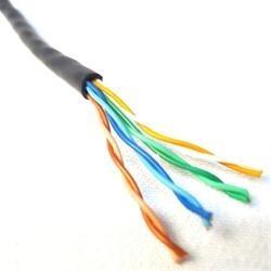 cabo de rede cat5e 4 pares 305m  +  alicate  + plug 100 rj45