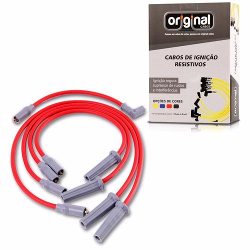 cabo de vela 10mm kombi s/ catal. 1300 84/91 cinza vermelho