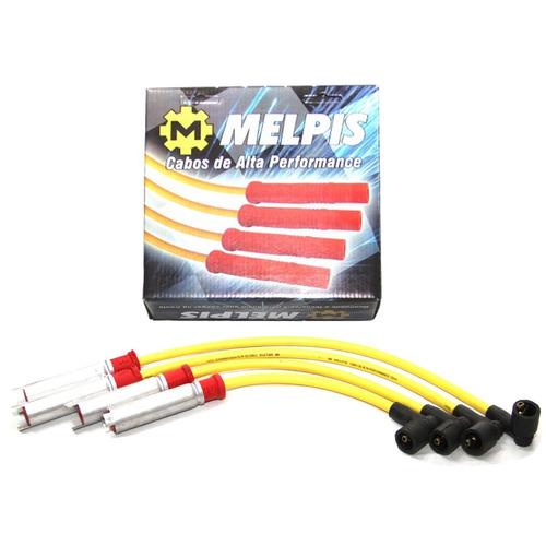 cabo de vela gm corsa 1997 até 2015 - amarelo 10mm melpis