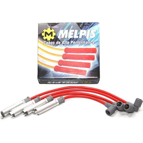 cabo de vela gm montana 2008 até 2015 - vermelho 10mm melpis
