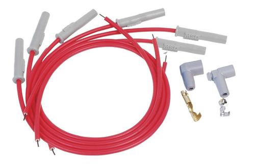 cabo de vela gm opala caravam 6 cil msd 8,5mm vermelho
