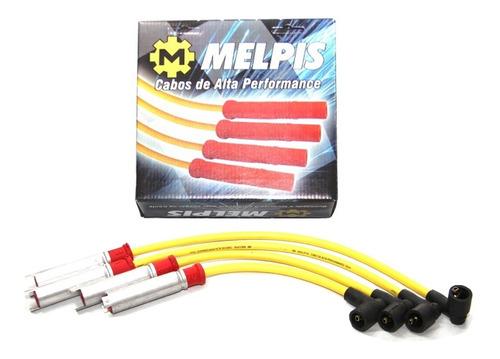 cabo de vela gm prisma 2005 até 2012 - amarelo 10mm melpis