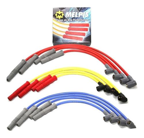 cabo de vela palio siena uno 1.0 8v fire 100% silicone 10mm