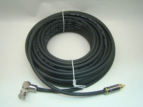 cabo de video bnc +rca  sdi 15 metros flexível
