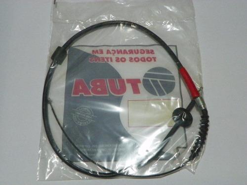 cabo dianteiro freio mão l200 gls até 07 quadrada - 1505mm