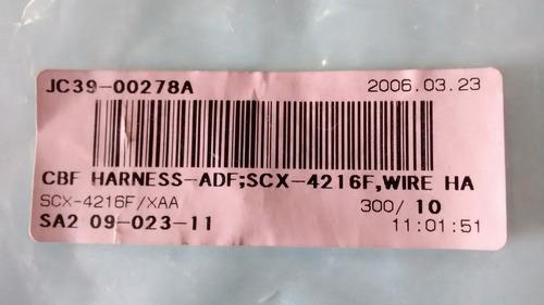 cabo do adf jc39-00278a samsung / xerox / lexmark / ricoh