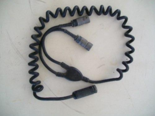 cabo do capacete radio rt 524, erc201,202, 203 e 204