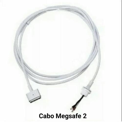 cabo do  carregador macbook air magsafe2 45w 60w 85w