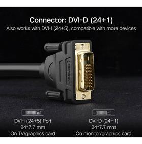 Cabo Dvi D 24+1 Pinos Para Monitor Gamer Overclocking 144hz