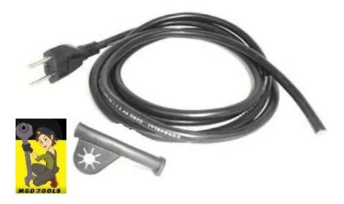 cabo eletrico 3mt + protetor para furadeira de 1/2