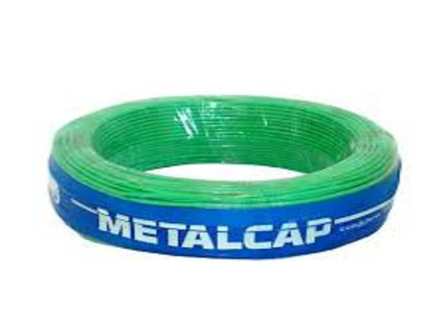 cabo eletrico flexível 2,5mm 750v 100m metalcap full