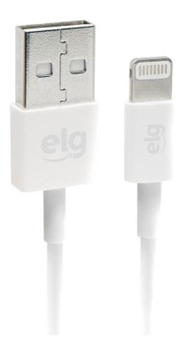 cabo elg lightning recarga sincronização ec810 novo branco