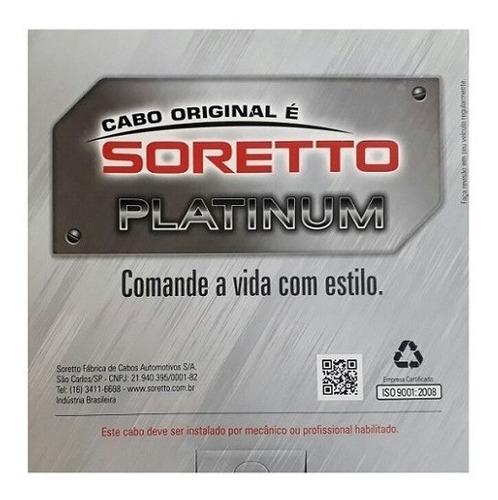 cabo embreagem bmw gs 650 2006/12 f 800 gs 2006/12 soretto