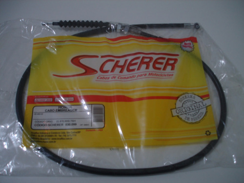 cabo embreagem cb450 original soretto