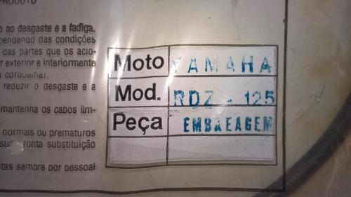 cabo embreagem  - yamaha rdz125