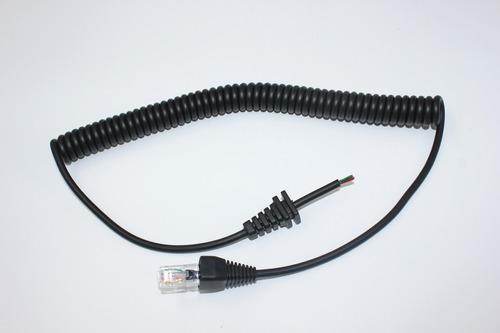 cabo espiral para vertex vx2100/2200 microfone mh67