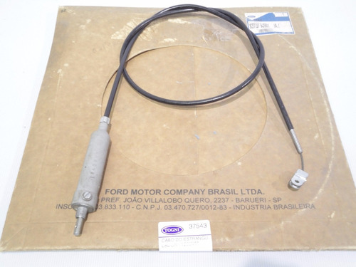 cabo estrangulador 1235mm f2000 f4000 82/89 - novo original