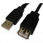cabo extensor usb 2.0 amxaf 1,8m pc-usb1802 plus cable