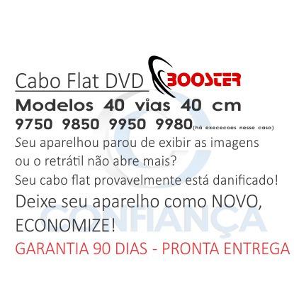 cabo flat booster bmtv 9750 9850 9950 9980 dvusbt frete grat