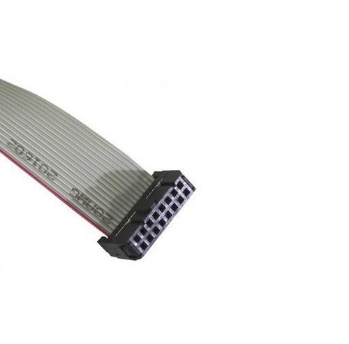 cabo flat cinza 16 vias para painel de led 40cm k2587