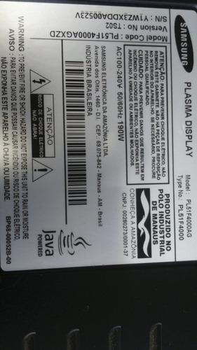 cabo flat (conjunto) da tv samsung pl51f4000ag