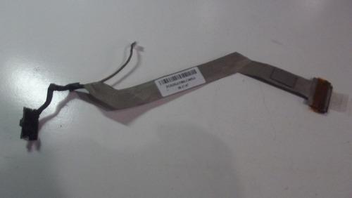 cabo flat da tela notebook compaq presario f500