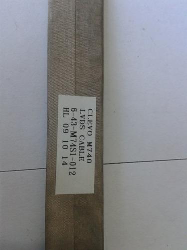 cabo flat da tela sim+  ns1a086t964