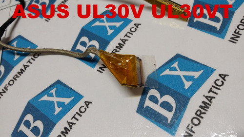 cabo flat do lcd asus ul30v ul30vt -1422-00md0as9a2601001996