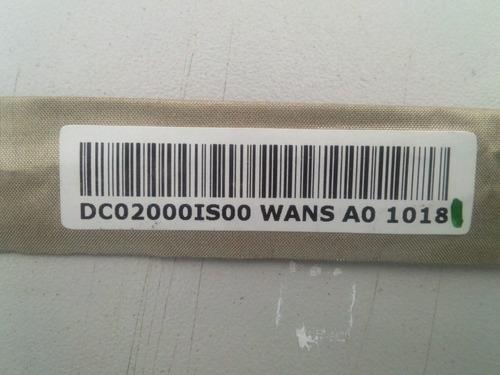cabo flat hp cq40 cq45 jbl20 jbl50 dc02000io00 usado