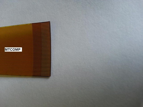 cabo flat invertido 40 vias original dvd booster bmtv 9850
