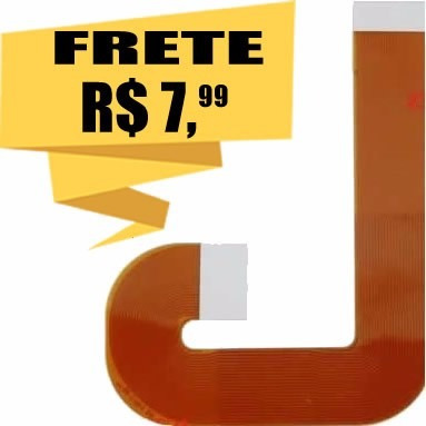 cabo flat leitor laser ps2 slim série 90000 90010 play 2