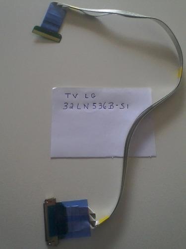 cabo flat lvds ead62296502 da tv lg 32ln536b