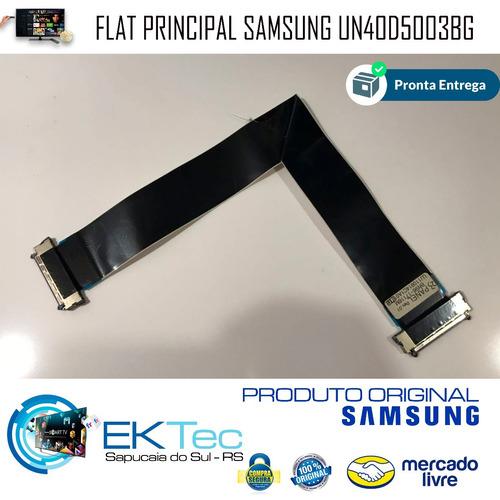 cabo flat lvds tv led samsung un40d5003bg bn96-17116m