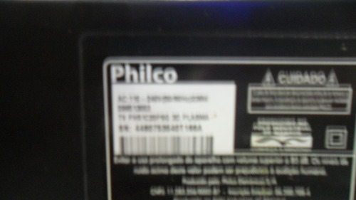 cabo flat lvds tv philco ph51c20psg