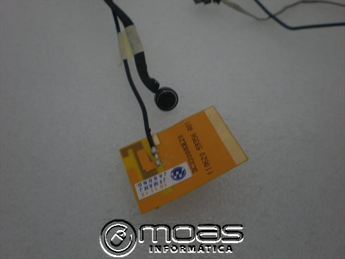 cabo flat microfone/wireless notebook emachines e443 séries
