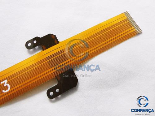 cabo flat pioneer avh-3580dvd avh-3550dvd 3550 frete grátis