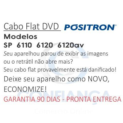 cabo flat positron sp6110 sp6111-av 6110 6111 frete gratis
