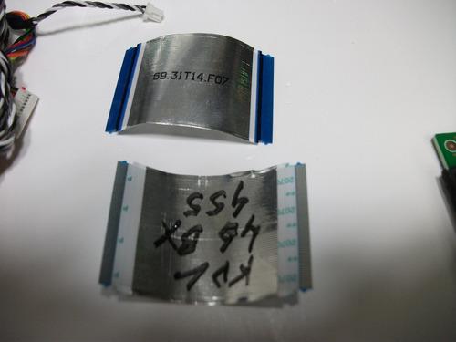 cabo flat sensor ir ch comando sony kdl46bx455 - veja o valo