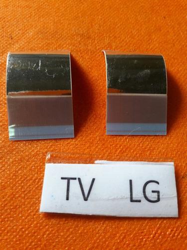 cabo flat tcon tv lg 47la6130 original testado.