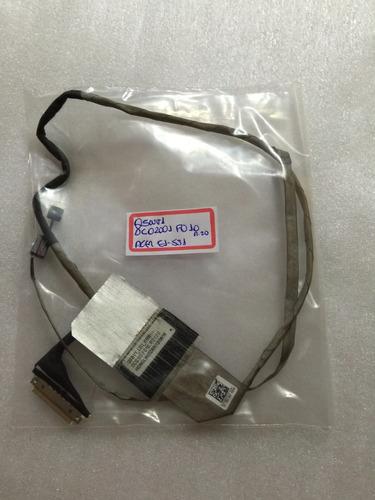 cabo flat video notebook acer e1-571 e1-531