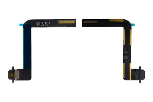 cabo flex conector de fone preto ipad 5