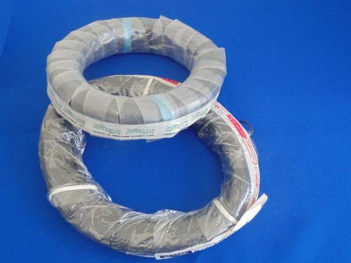cabo flex.cobre,estanho,pvc-preto-tensão:300v-comp.nom 100m²