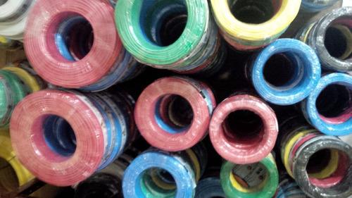 cabo flexível 2,5mm 450/750v rolo 100m  (amarelo)