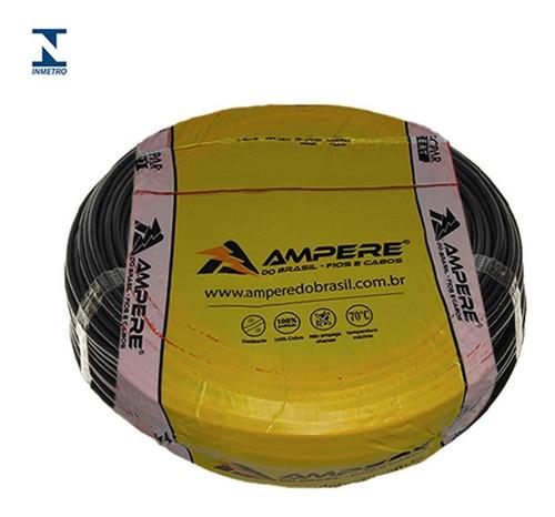cabo flexivel 4mm ampere do brasil rl100m
