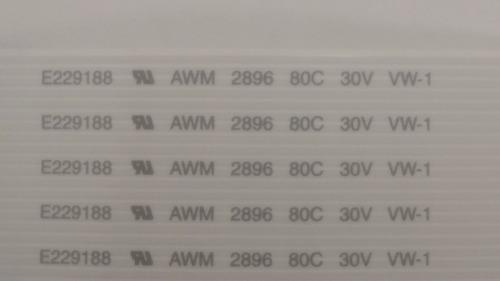 cabo flexível (flat cable) para radio motorola em-200 em-400