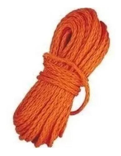 cabo flotante naranja 8 mm x 30 m  (no envios)