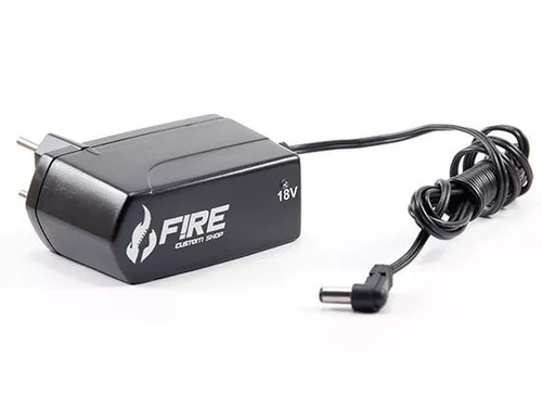 cabo fonte fire pedal guitarra 12 pedais power bridge 18v